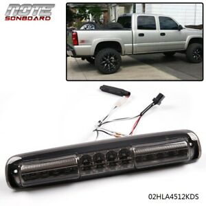 Led Rear Third 3rd Brake Light Cargo Lamp For 1999 2007 Chevy Silverado 1500