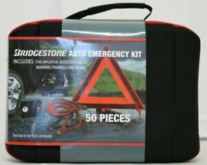 New Bridgestone Auto Safety Emergency Kit 50 Pieces