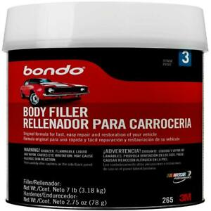 Body Filler Car Painting Bondo Auto Paint And Fillers Automotive Repair 1 Gallon