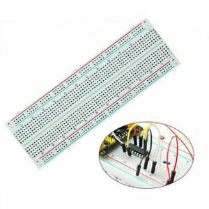 Solderless Breadboard Protoboard 830 Tie Points Test Mb 102 Pcb Learning Kits