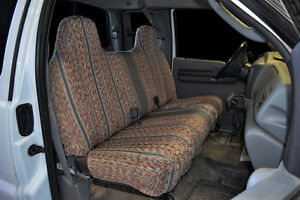 1995 2007 Ford F 150 F 250 F 350 Bench Custom Fit Grey Saddleblanket Seat Covers