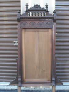 Victorian Walnut Mirror Frame Eastlake Dresser Part