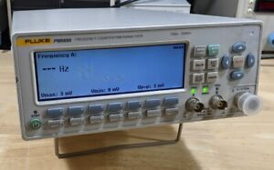Fluke Pm6690 12 Digits s Frequency Counter With 2 7ghz Channel Ocxo Timebase