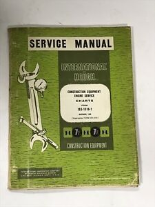 International Hough Construction Equipment Engine Service Charts Iss 1516 1