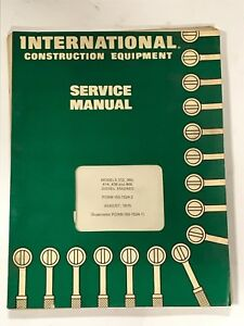 International Construction Equipment Engine Service Manual Iss 1524 2