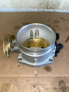 Edelbrock Satin 90mm Victor Ls Series Racing Throttle Body For 07 08 Avalanche