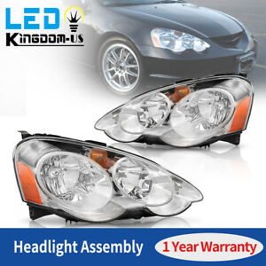 For 2002 2003 2004 Acura Rsx Dc5 Headlights Assembly Replacement Headlamp Pair