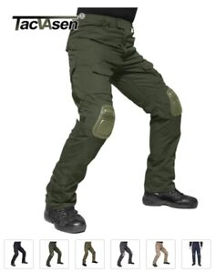TACVASEN Military Army Pants for Men With Knee Pads Airsoft Tactical Cargo $53.21