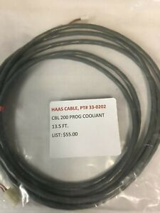 Haas Cable 200 Programable Coolant Cable Pt 33 0202
