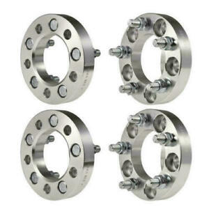 4pcs 1 Inch Wheel Spacers 5x4 5 1 2 Studs For Ford Mustang Lincoln Mercury Jeep