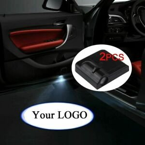 Wireless Led Courtesy Car Logo Door Ghost Shadow Projector Light Fit All Bmw