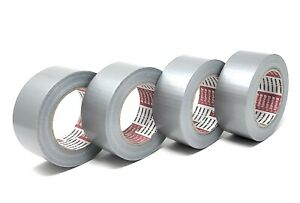 Linex Gray Duct Tape Heavy Duty Residue Free 1 88 Inches By 175 Total Yards