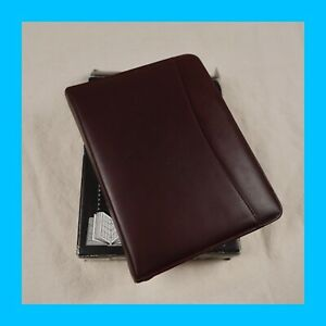 Vintage 90s Dayrunner Personal Organizer Classic Edition Leather New Usa Filofax