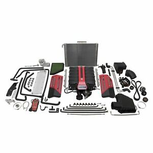 Edelbrock Stage 1 Street Supercharger Systems For 2010 2013 Camaro Ss L99 1597
