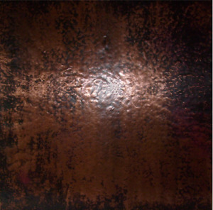 Copper Sheet Warm Brown Finish 18 X 48