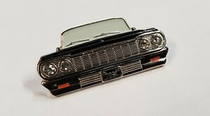 Black 1964 Chevrolet Lowrider Impala Convertible Station Wagon Quality Pin