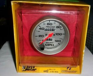 Autometer 4492 Pro Comp Ultra Lite 3 3 8 Mechanical Speedometer Gauge 0 120 Mph