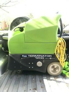 Portable Heated Carpet Tile Cleaner Extractor 1200psi Terminator Hydramaster