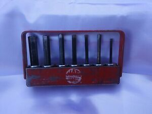 Mac Tools 3 8dr Sae 7pc Long Key Allen Set With Tray