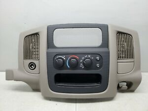 2002 2005 Dodge Ram 1500 Center Dash Trim Bezel Radio Surround Panel 02 05 Ram