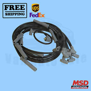 Spark Plug Wire Set Msd For Dodge 1967 1976 Charger
