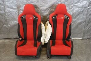 2018 Honda Civic Type r Fk8 K20c1 2 0l Oem Lh Rh Front Seat Pair damage 9425