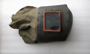 Vintage 1980 s Bulgaria Welding Mask Face Protector Steampunk Welding Mask