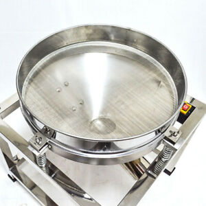 Screen 110v Electric Stainless Steel Vibration Sieve Machine Shaker Machine