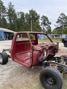 1981 1987 Chevy Gmc Truck Cab C 10 20 30 Regular Cab Ga Cab Needs Repairs Read