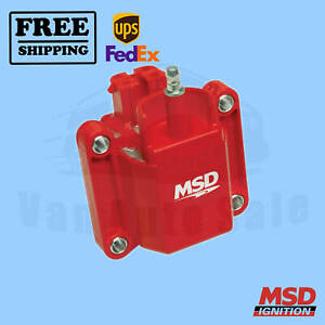 Ignition Coil Msd Fits Gmc Sonoma 91 1995