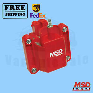 Ignition Coil Msd Fits Chevrolet 92 1995