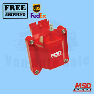 Ignition Coil Msd For Ford E 150 Econoline 84 1996