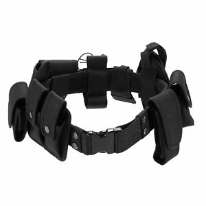 Outdoor Tactical Belt Law Enforcement Modular Equipment Police Security T9w6