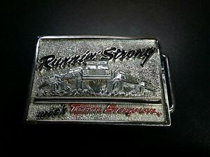 Snap On Tools Team 4x4 Truck Belt Buckle Running Strong New