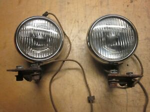 1949 54 Chevy Guide 5 Fog Lamps W Brackets 2025 A
