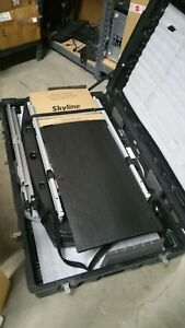 Skyline Trade Show Booth Display Table With Folding In Hard Carry Case