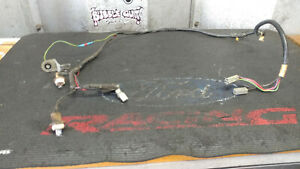 91 93 Oem Mustang Coupe Notch Back Trunk Deck Lid Wire Wiring Harness Loom Plug