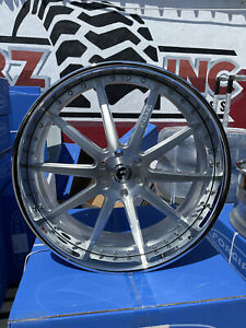 26x10 Forgiato S206 6x5 5 Truck Suv Cadillac Chevy Tahoe Wheel Tire Package