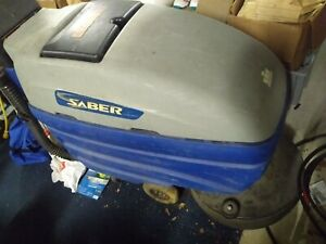 20 Windsor Saber Auto Scrubber Battery Operated Needs Replacement Batteries
