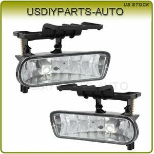 Fits Chevy Silverado 1500 2500 3500 2001 2002 Fog Lights Lamp Left Right Clear
