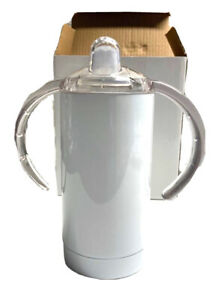 12 Oz Sippy Cup Tumbler Steel Insulated Sippy Cup Toddler Baby with No Spill $18.99