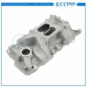 Brand New Intake Manifold For 1955 1986 Small Block Chevy 262 400