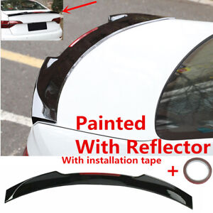 Sport Style Glossblack Trunk Spoiler Wing Fit For 2019 2021 Vw Jetta Vii Sedan