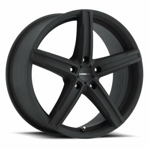 5x114 3 Wheel 20 Inch Rim Vision Boost 469 20x8 5 35mm Black