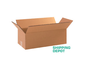25 18x8x6 Cardboard Paper Box Mailing Packing Shipping Boxes Corrugated Carton