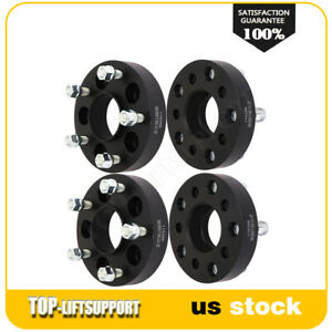 4x 1 25 Inch 5x4 5 To 5x5 Hub Centric Wheel Spacers For Jeep Wrangler Jk Liberty