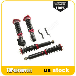 Coilovers For 1989 94 Nissan 240sx S13 Adj Height Shocks Suspension Springs Kits