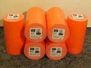 Monarch paxar Fl Red Labels For 1136 Pricing labeling Lot Of 6 Free Ship