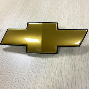 For 2007 2014 Chevy Suburban 1500 Tahoe Gold Grill Bow Tie Bowtie Emblem
