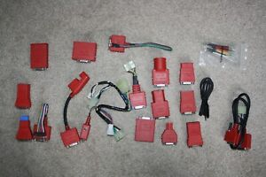 Snap On Obd I Adapter Set Complete List Price 500 Scan Tool Solus Modis Apollo
